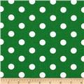 Spot On II Polka Dots Dark Green/White