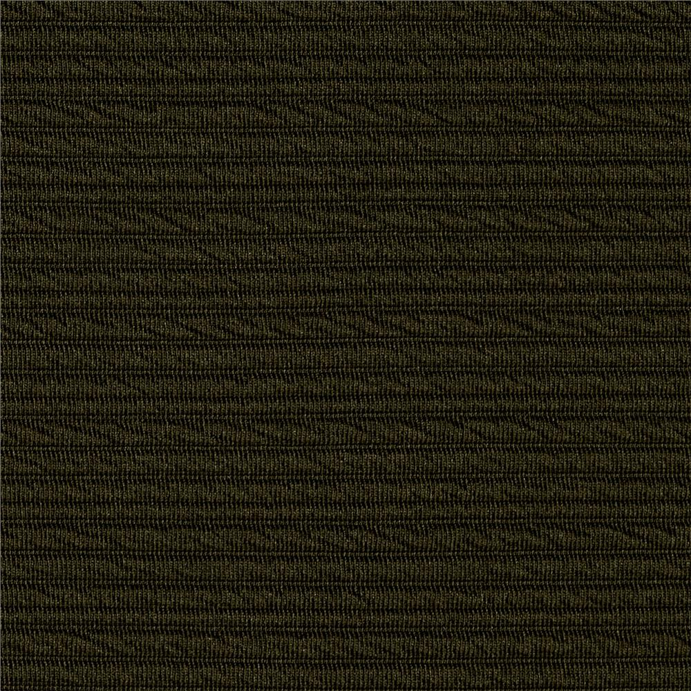 Ottoman Double Knit Solid Army Green