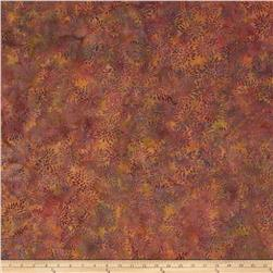 Island Batik Mum Purple/Orange