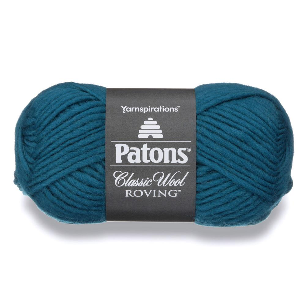Patons Classic Wool Roving Yarn Pacific Teal
