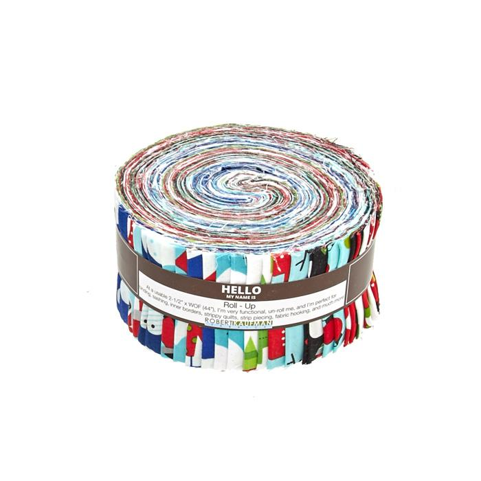 "Kaufman Jingle 2.5"" Jelly Roll Multi"