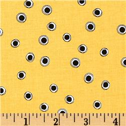Loralie Halo Dots White/Yellow