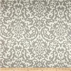 Waverly Duncan Damask Twill Sterling Fabric