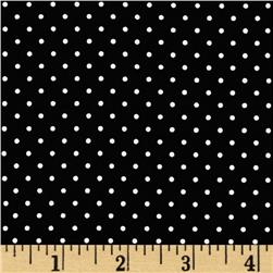 Riley Blake Swiss Dots Black/White