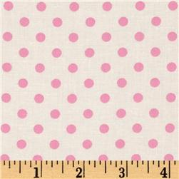 Michael Miller Dumb Dot Peony Fabric