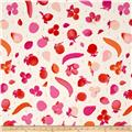 Cotton & Steel Fruit Dots Fruit Stand Pink