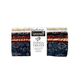 "Timeless Treasures Batik Tonga 10"" Square Packs Sophisticate"