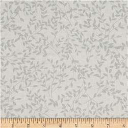 Moda Family Tree Monotone Leaves Grey Beaks