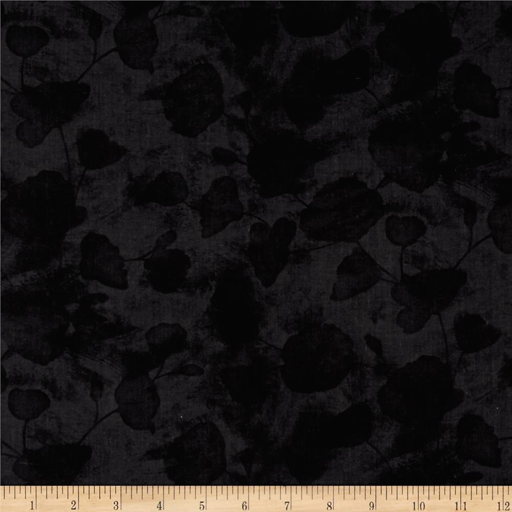 Poppy Celebration Shadow Poppy Texture Black Discount