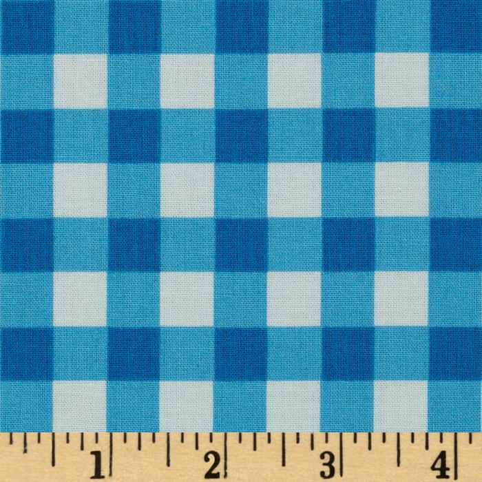 Sweet Lady Jane Garden Gingham Periwinkle