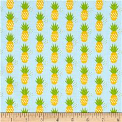 Riley Blake Fresh Market Pineapple Blue