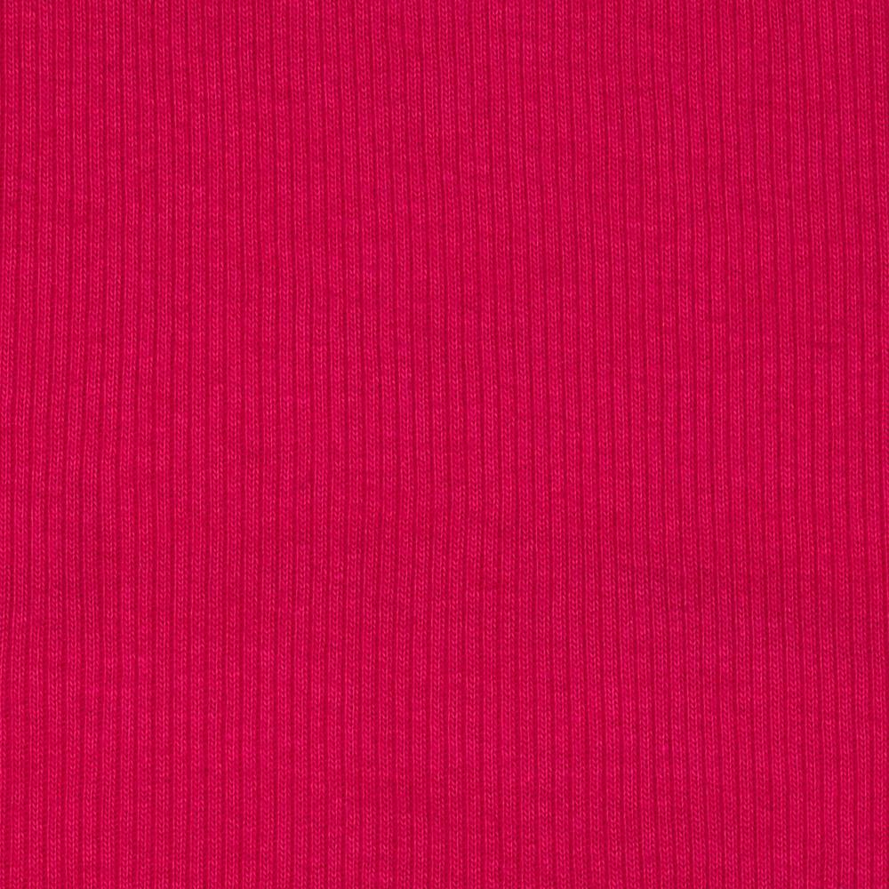 Basic Cotton Rib Knit Passion Pink