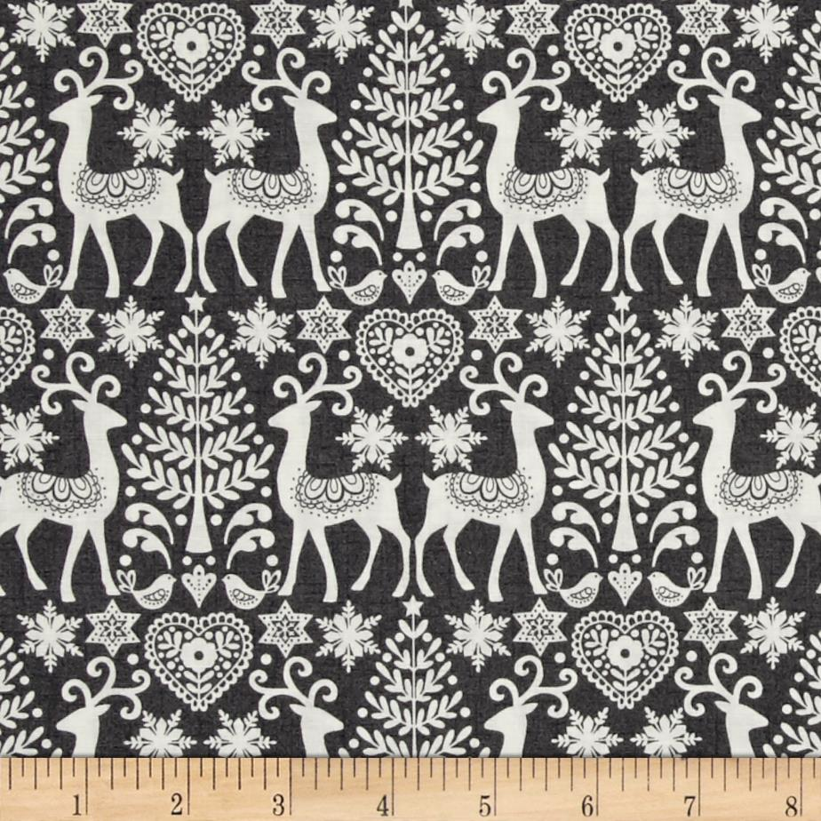 Scandi 3 Reindeer   Gray