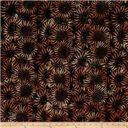 Hoffman Bali Batiks Sunflower Copper