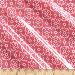 Riley Blake Summer Song 2 Laminate Damask Pink