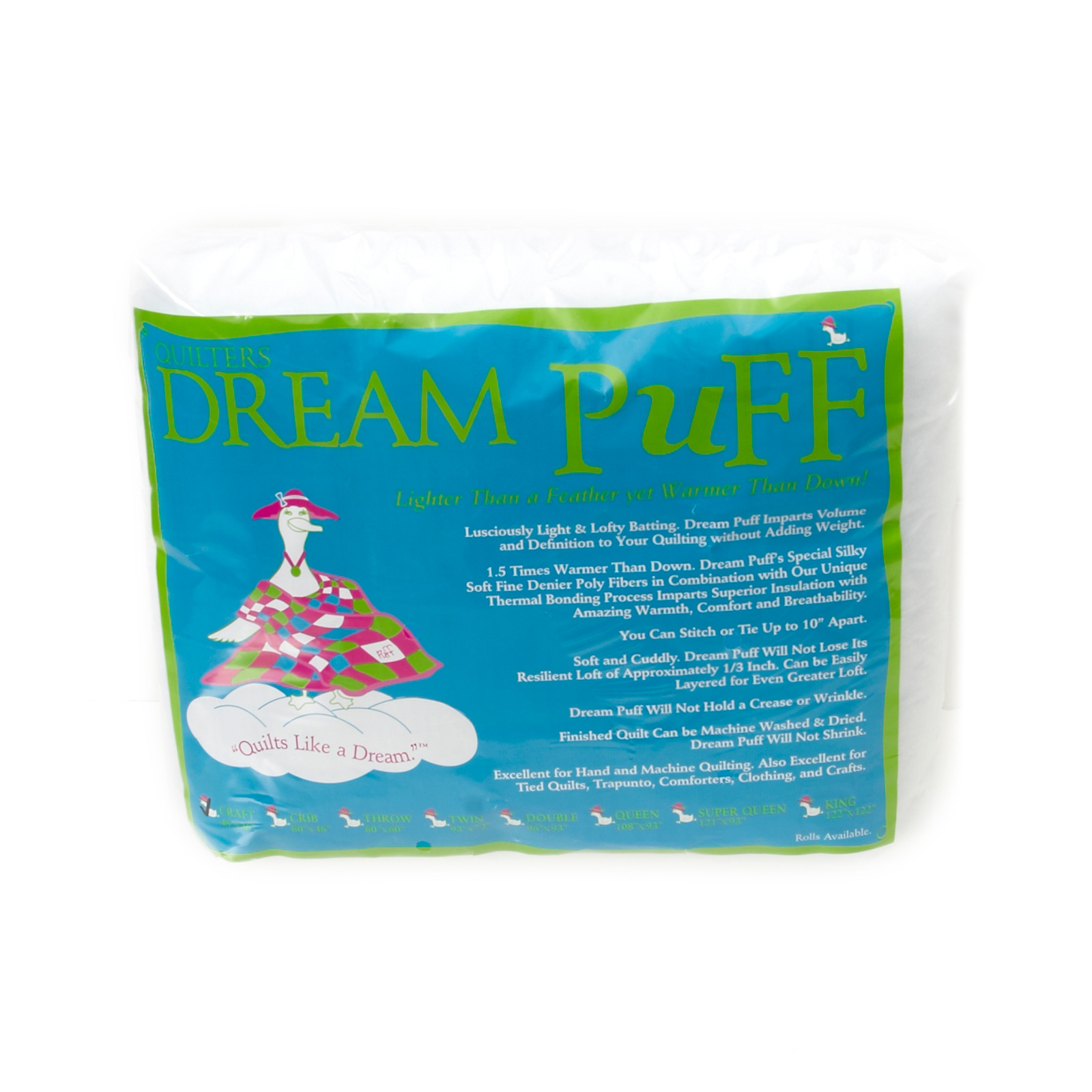 Quilter's Dream Puff Batting (46'' x 36'') Craft by Quilter's Dream in USA