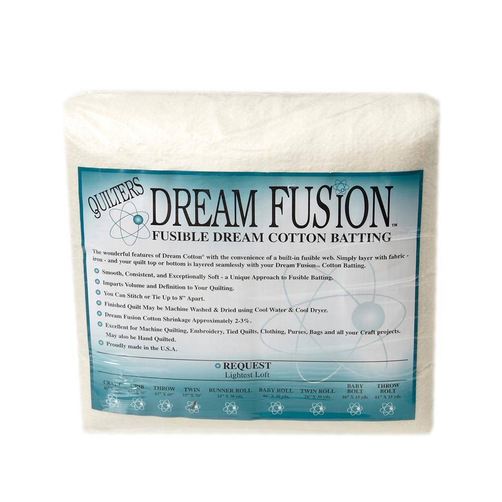 """Quilter's Dream Fusion Cotton Request (93"""" x 70"""") Twin"""