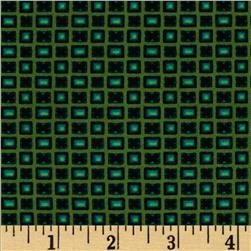 Star of Hope Radiant Cut Green Fabric
