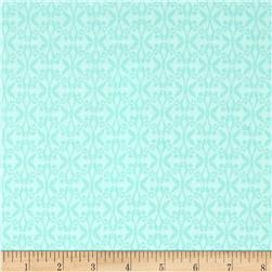 Moda True Luck Trellis Aqua
