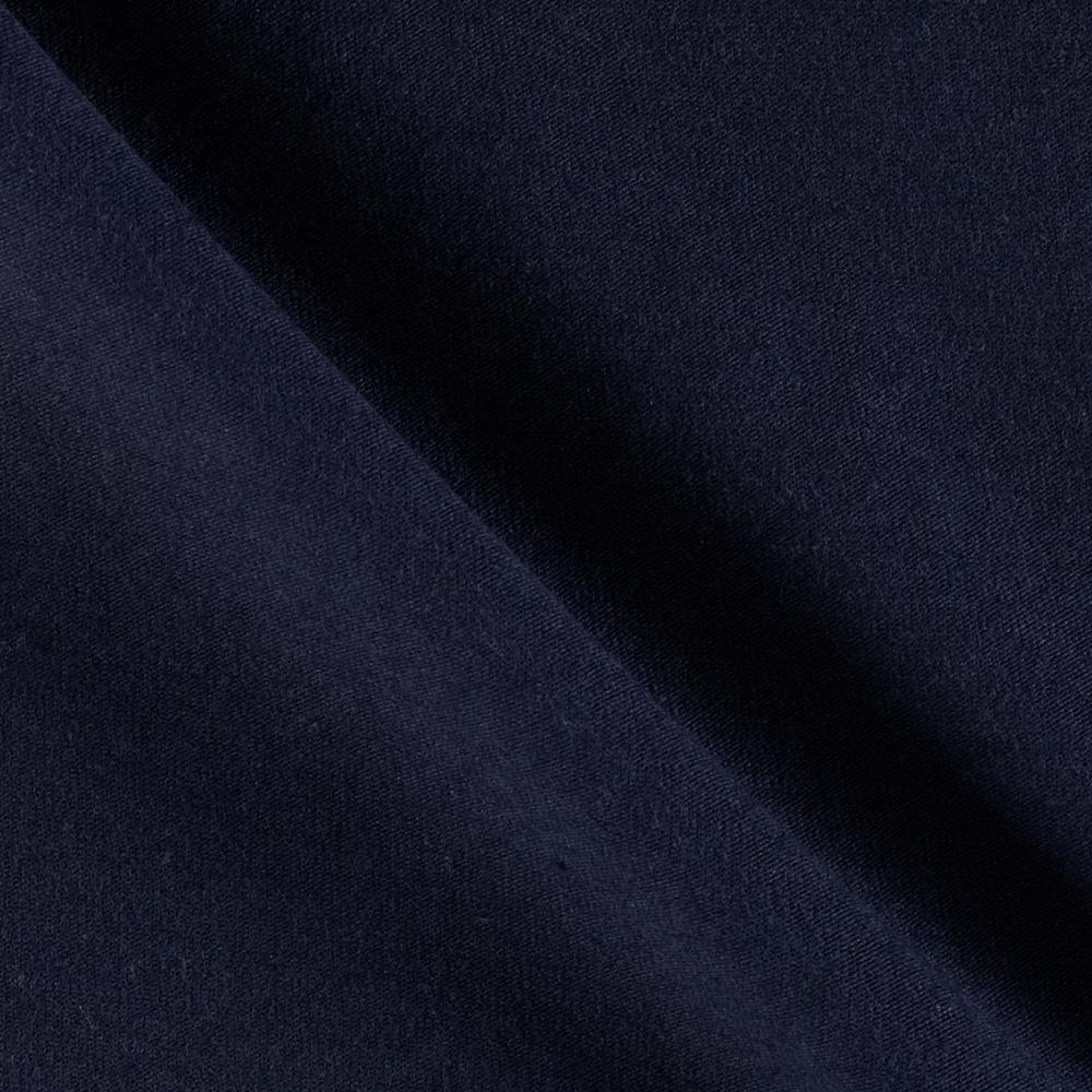 Cotton Lycra Spandex Jersey Knit Navy