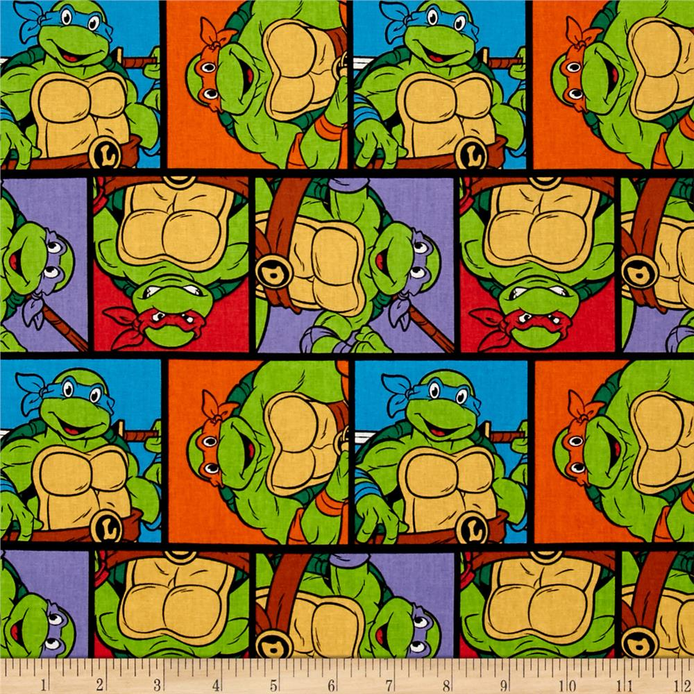 Nickelodeon Teenage Mutant Ninja Turtles Patch Multi