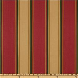 Swavelle/Mill Creek Indoor/Outdoor Leticia Stripe Garnet