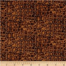 Jungle Party Snakeskin Brown