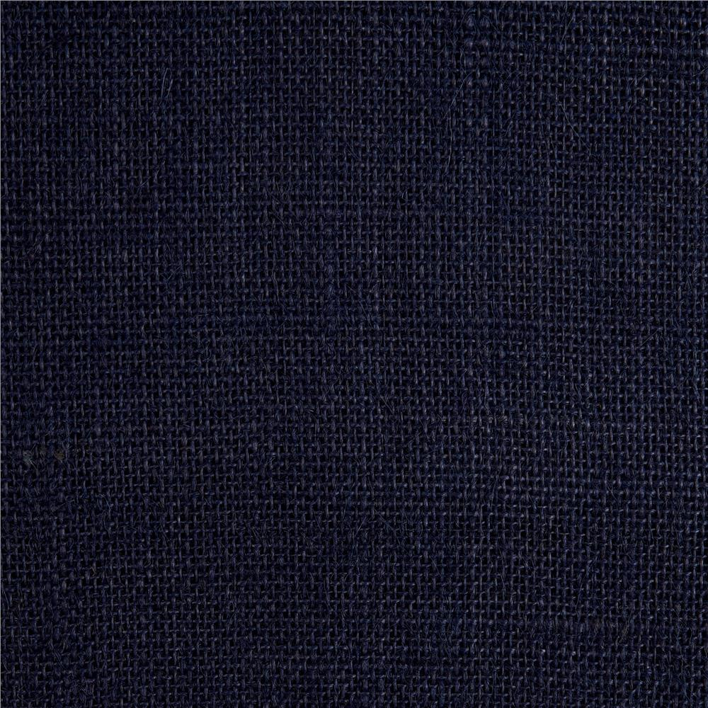 "60"" Sailor Burlap Navy - Discount Designer Fabric - Fabric.com"