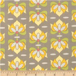 Riley Blake Priscilla Laminate Damask Grey