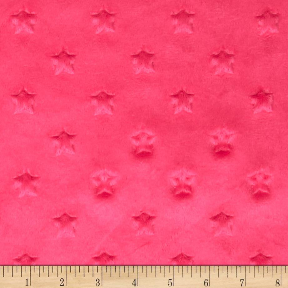 Telio Minky Star Dot Hot Pink