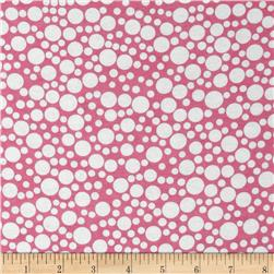 Michael Miller Baby Flannel Zoo Littles -It's a Girl Thing- Pink