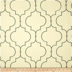 KasLen Embroidered Helmsley Teal