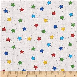 Baby Love Double Gauze Stars Multi