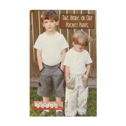 Fishsticks Inside Or Out Pocket Pants 6M-5T Pattern