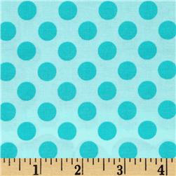 Michael Miller Ta Dot Robins Egg Fabric