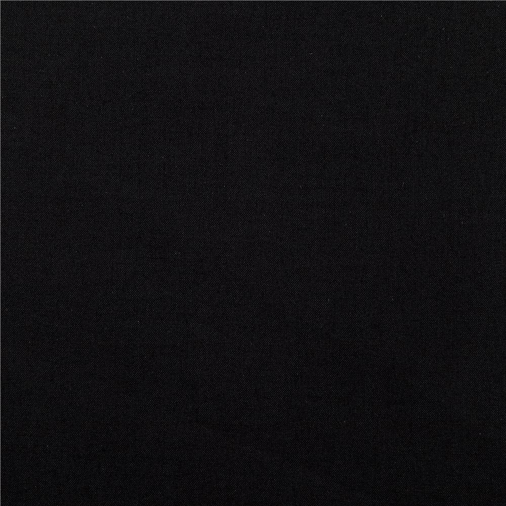 Kaufman cambridge cotton lawn black discount designer for Black fabric