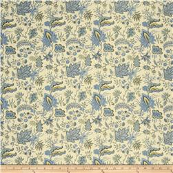 French General Josephine Linen Bleu