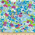 Newcastle Flannel Dilly Floral Lagoon