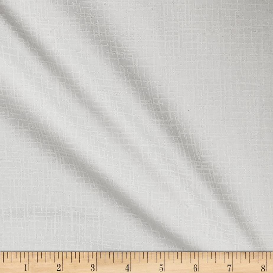 110 In. Wide Quilt Back Betula Optic White Fabric