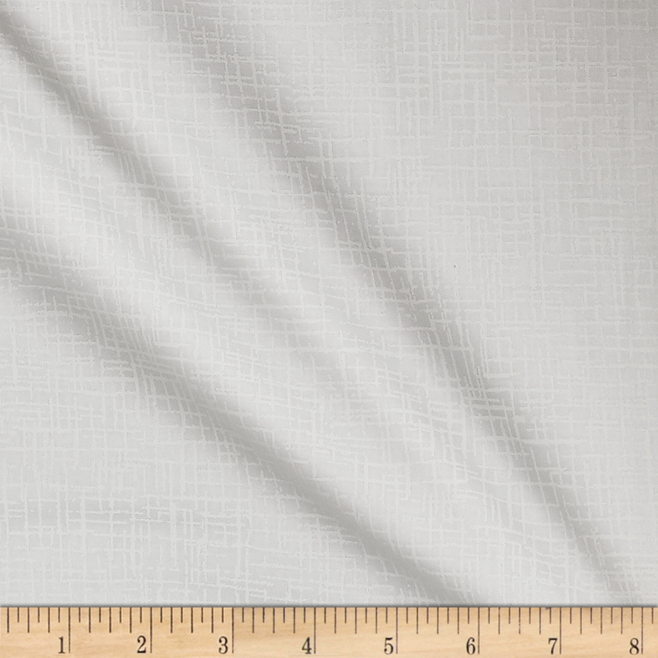 110 In. Wide Quilt Back Betula Optic White Fabric by Westrade in USA