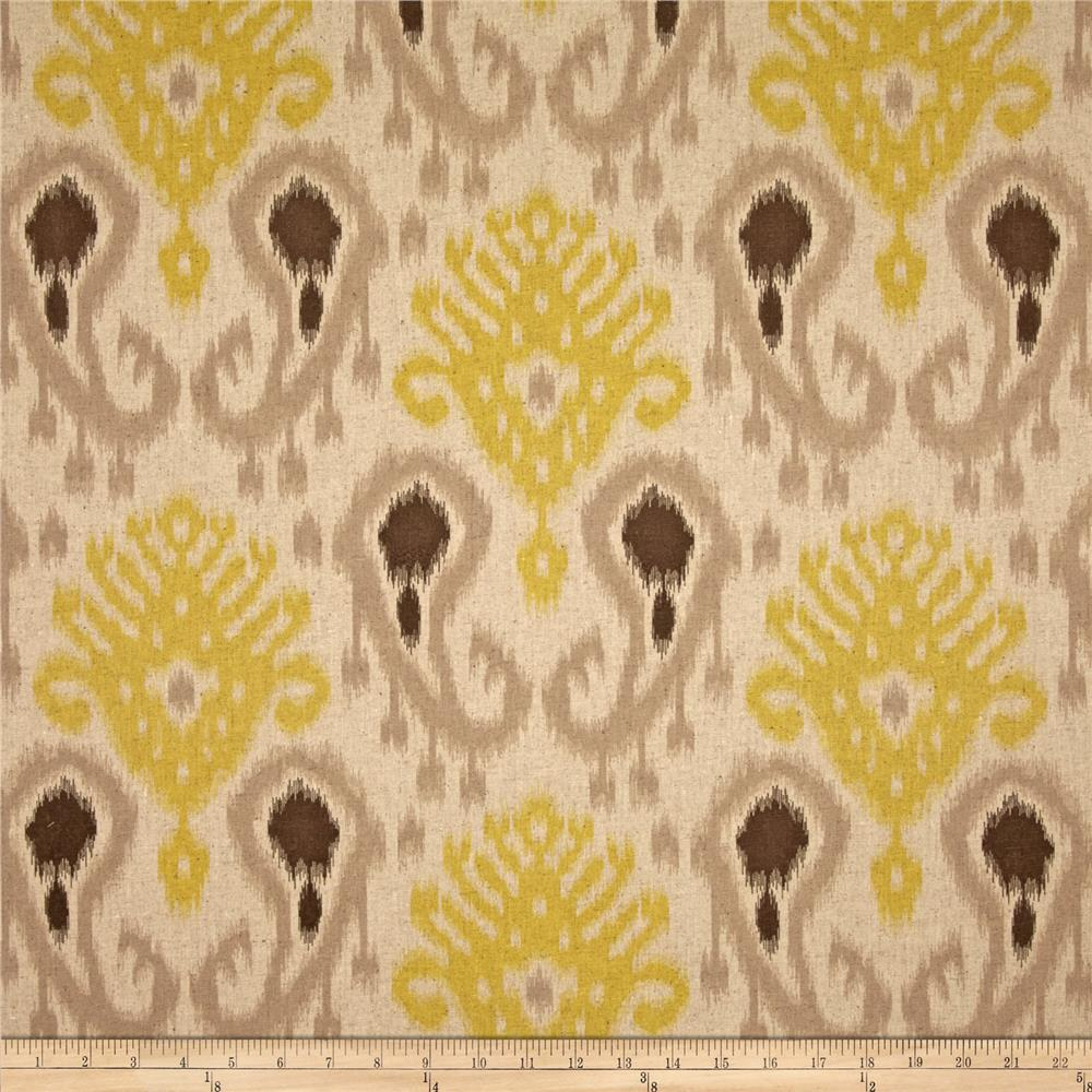 World Wide Barbados Ikat Citron