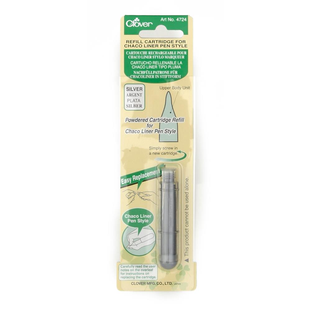 Clover Chaco Liner Refill Silver