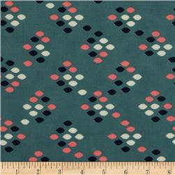 Cotton & Steel Cookie Book Lawn Drops Green
