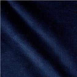 Honey Comb Corduroy Midnight Blue