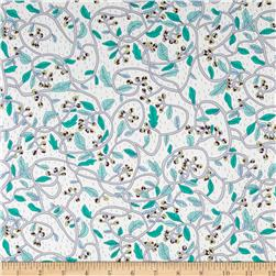 Liberty of London Tana Lawn Budding Vine Gray