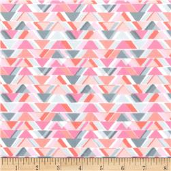 Michael Miller Minky Sassy Cats All Angles Pink