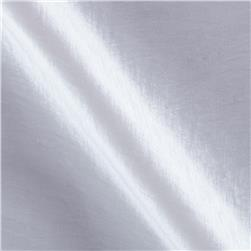 Soiree Stretch Taffeta Iridescent White