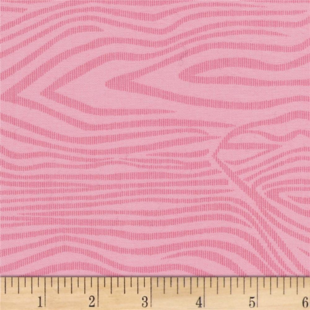 """110"""" Wide Quilt Back Moire Pink"""