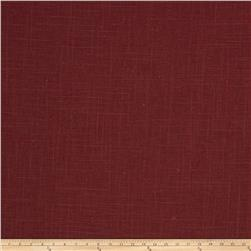 Fabricut Neighbor Linen Blend Crimson