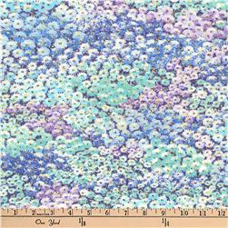 Kaufman Imperial Collection Metallic Flower Carpet Jewel